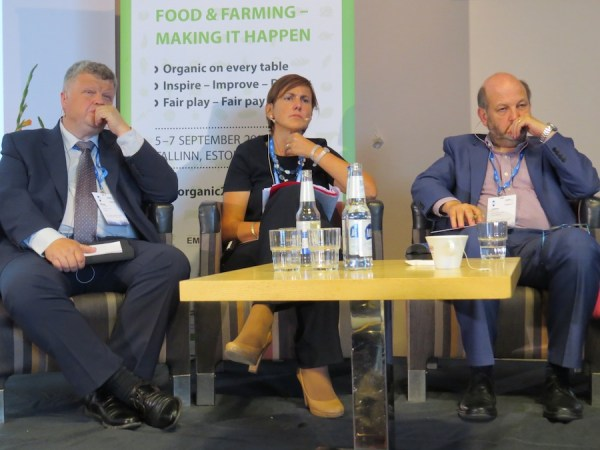 Part of panel discussing pro and contra of the new EU Organic Regulation.