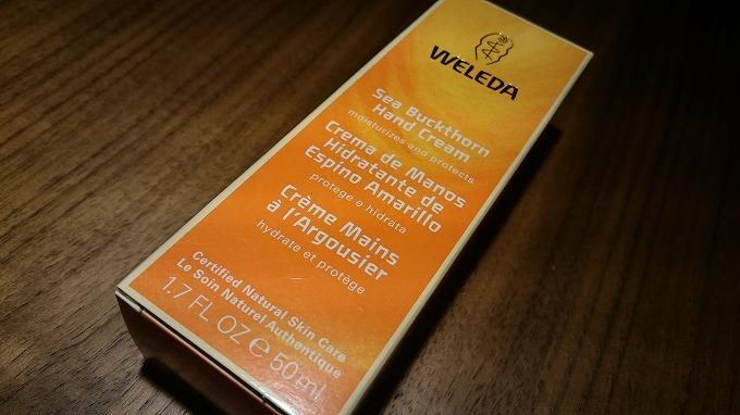 iHerb-Weleda社のサジーなハンドクリーム2
