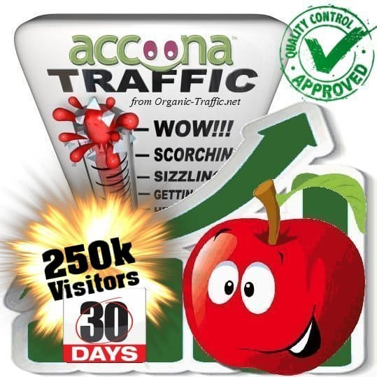 accoona search traffic visitors 30days 250k