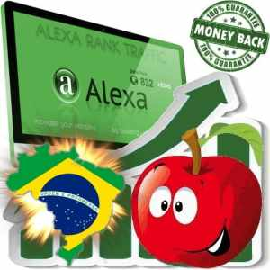 Buy Alexa Rank Traffic (Brasil)