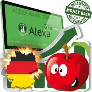 Buy Alexa Rank Traffic (Germany)