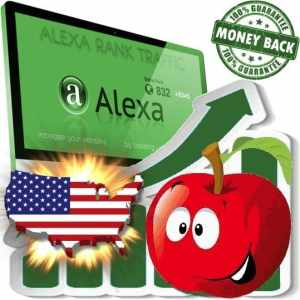 Buy Alexa Rank Traffic (USA)