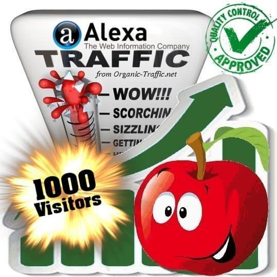 buy 1000 alexa search traffic visitors