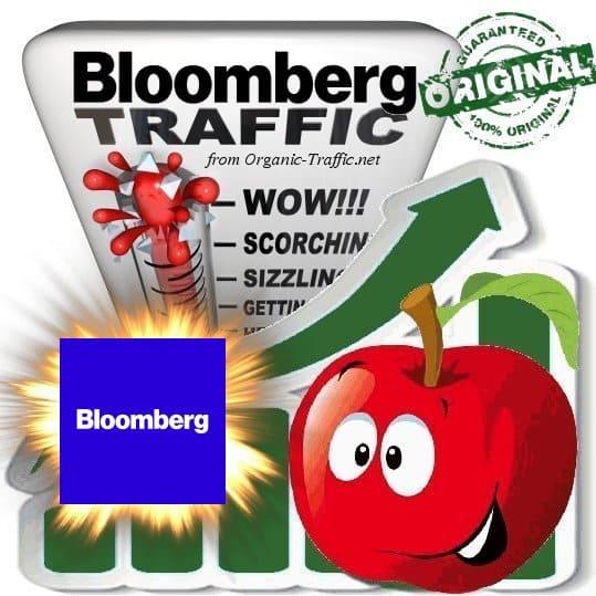 Buy Bloomberg.com Web Traffic