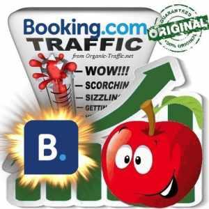 Buy Booking.com Web Traffic Service