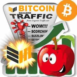 buy bitcoinmagazine.com traffic visitors