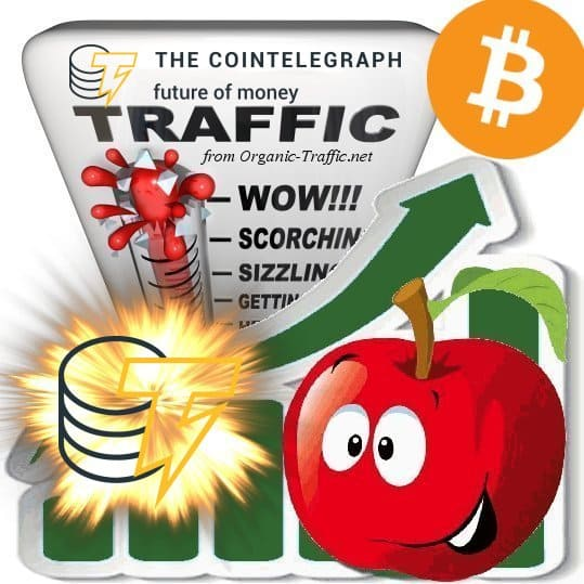 Buy Cointelegraph.com Traffic Visitors