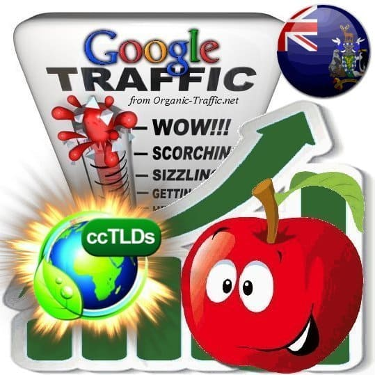 buy google ascension island organic traffic visitors