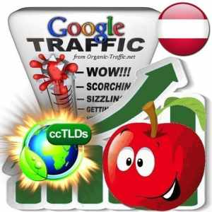 buy google austria organic traffic visitors