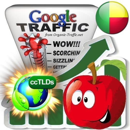 buy google benin organic traffic visitors