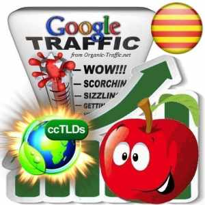 buy google catalan countries organic traffic visitors