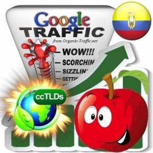 buy google ecuador organic traffic visitors