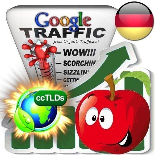 buy google germany organic traffic visitors