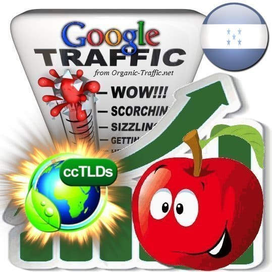 buy google honduras organic traffic visitors