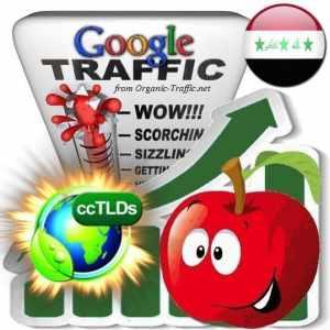 buy google iraq organic traffic visitors