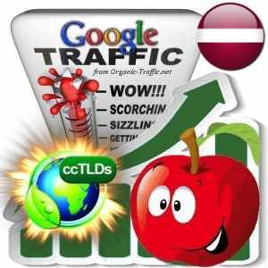 buy google latvia organic traffic visitors