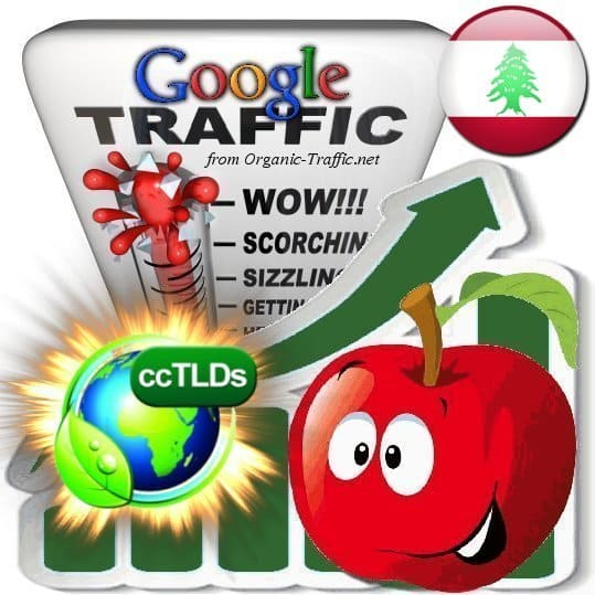 buy google lebanon organic traffic visitors