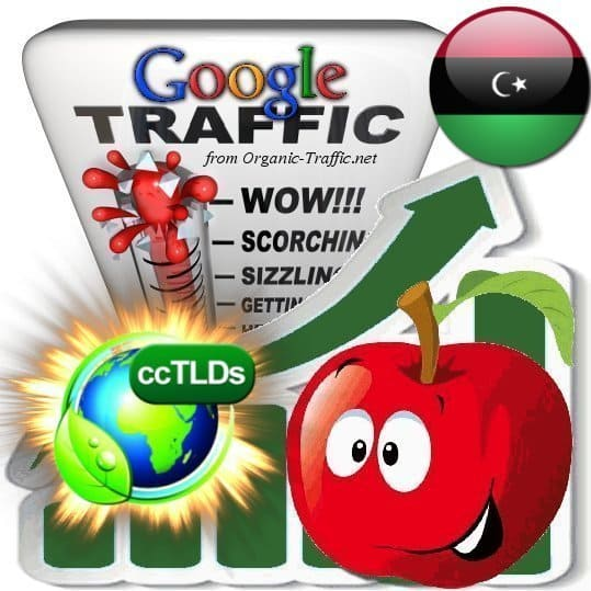 buy google libya organic traffic visitors