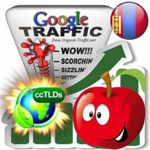 buy google mongolia organic traffic visitors