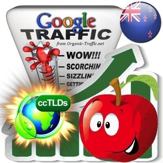 buy google new zealand organic traffic visitors