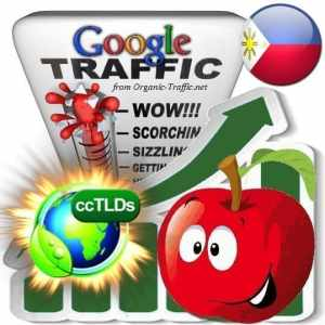 buy google philippines organic traffic visitors