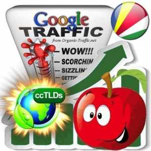 buy google seychelles organic traffic visitors