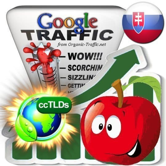 buy google slovakia organic traffic visitors