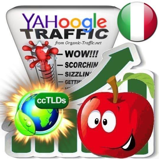 Buy Google & Yahoo Italy Webtraffic