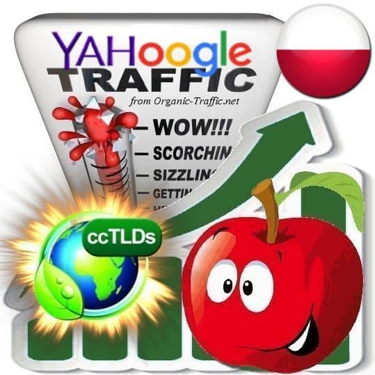 Buy Google & Yahoo Poland Webtraffic