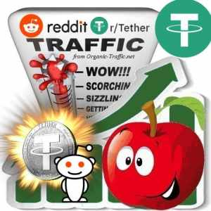 Buy Reddit r/Tether Visitor Traffic