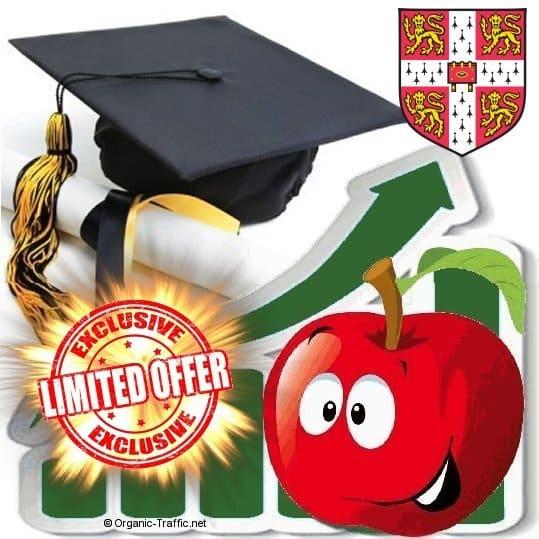 buy cambridge university traffic visitors