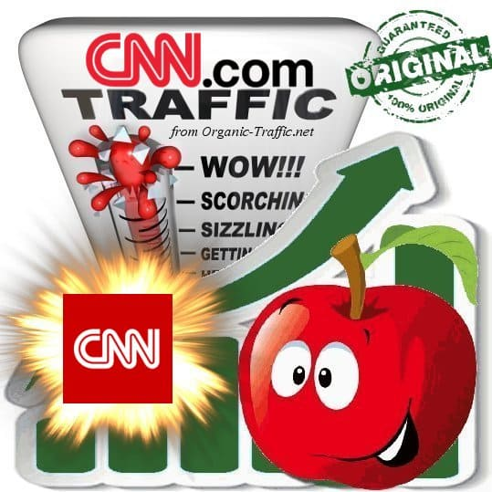 Buy CNN.com Web Traffic