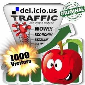 buy 1000 delicious social traffic visitors