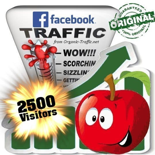 buy 2500 facebook social traffic visitors