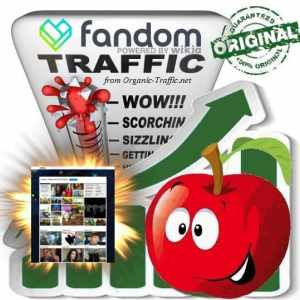 Buy Fandom (Wikia) Web Traffic