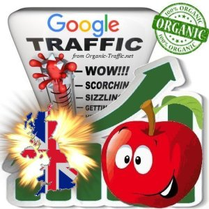 British Google Search Traffic