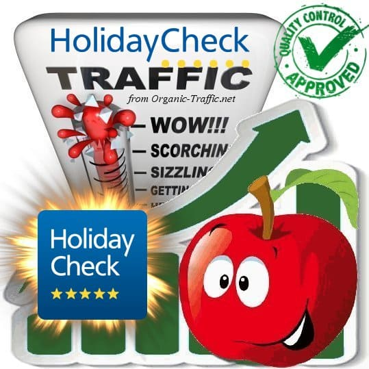 Buy HolidayCheck.de Website Traffic