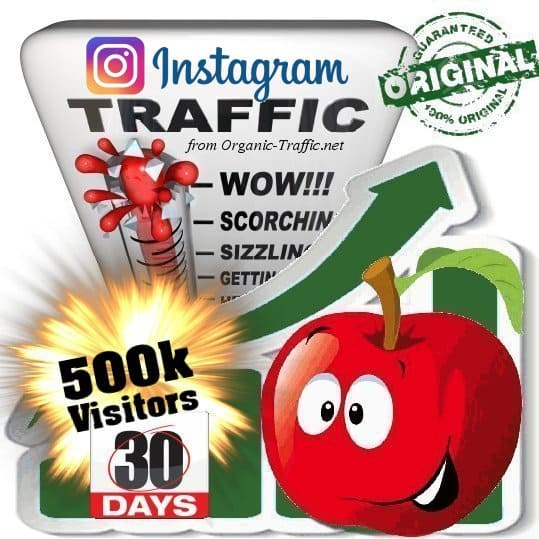 Buy 500k Instagram Visitors