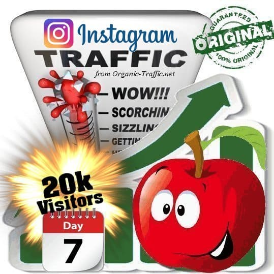 Buy 20k Instagram Visitors