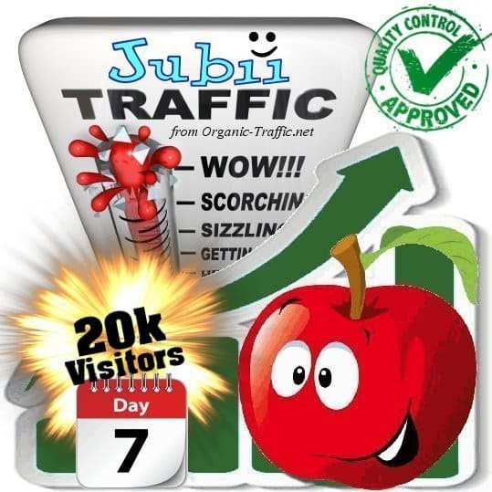 buy 20.000 jubii.dk search traffic visitors in 7 days