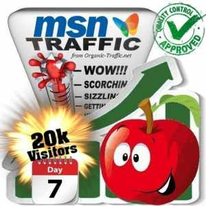 buy 20k msn search traffic visitors within 7 days
