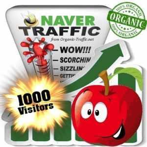 buy 1000 naver organic traffic visitors