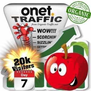 onet organic traffic visitors 7days 20k