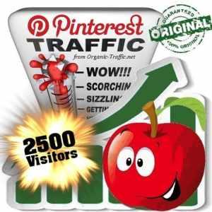 buy 2500 pinterest social traffic visitors