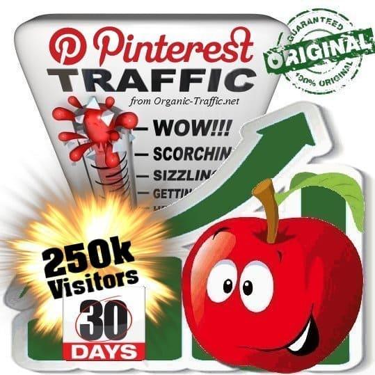 buy 250k pinterest social traffic visitors 30 days