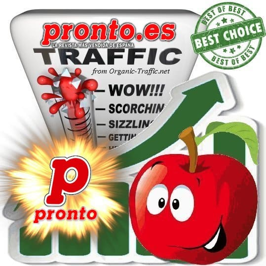 Buy Web Traffic - Pronto.es