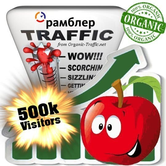 rambler organic traffic visitors