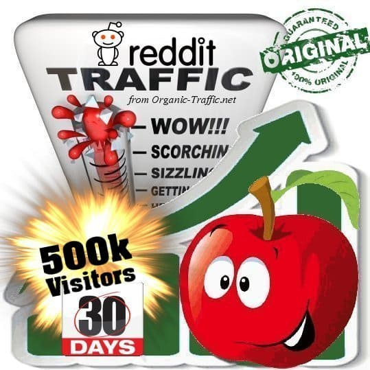 get 500k reddit social traffic visitors in 30 days