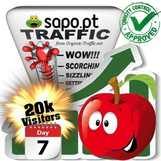 buy 20.000 sapo.pt search traffic visitors within 7 days