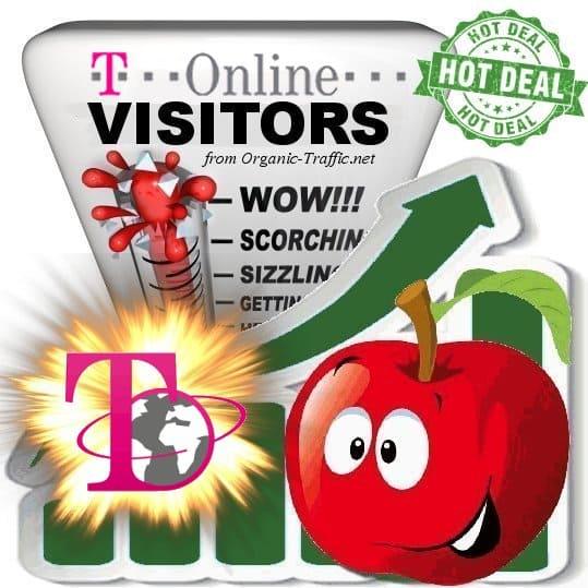 Buy T-Online Website Traffic